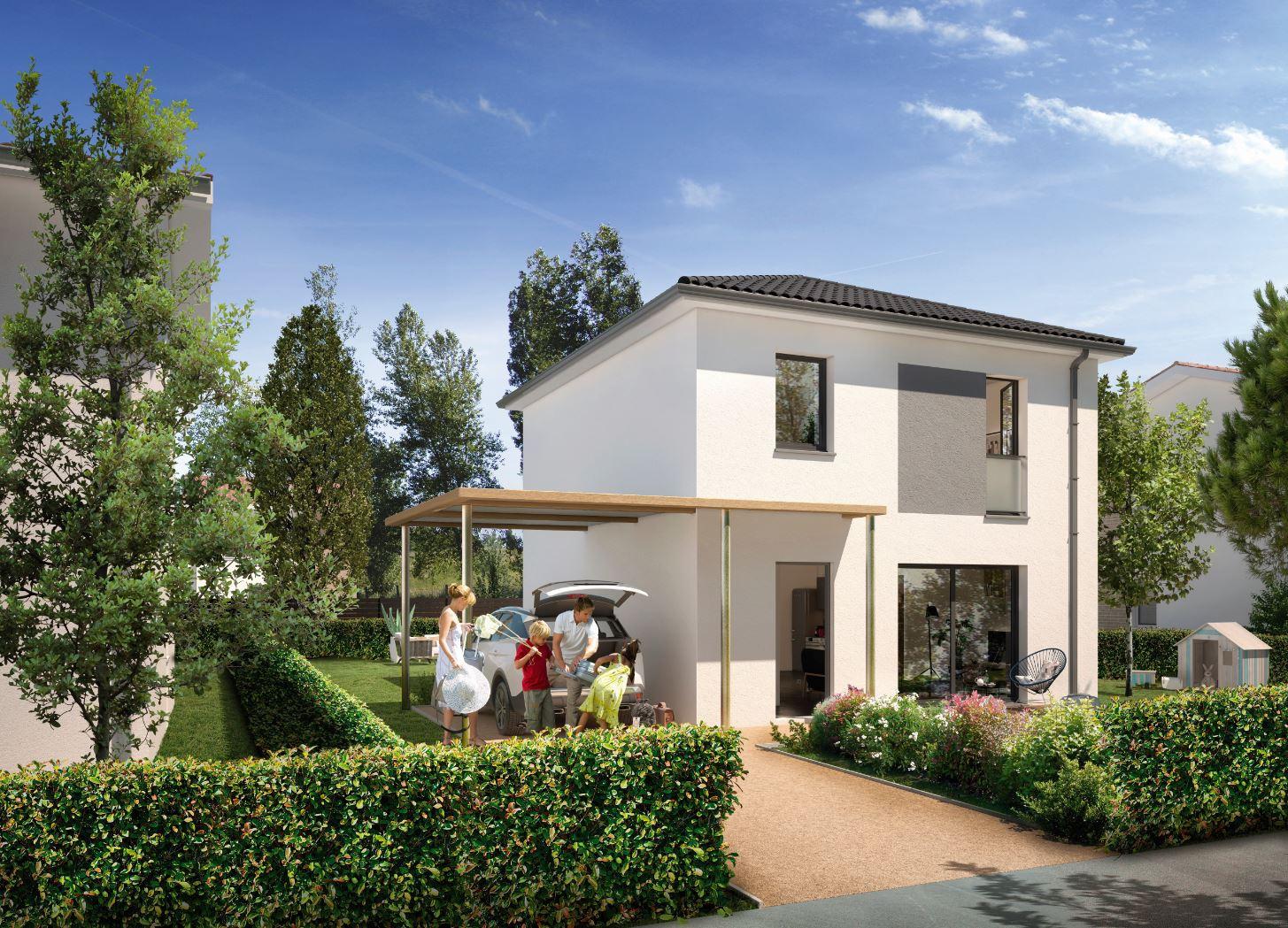 Vente Maison Terrain + Maison de 92 m2  à St jory